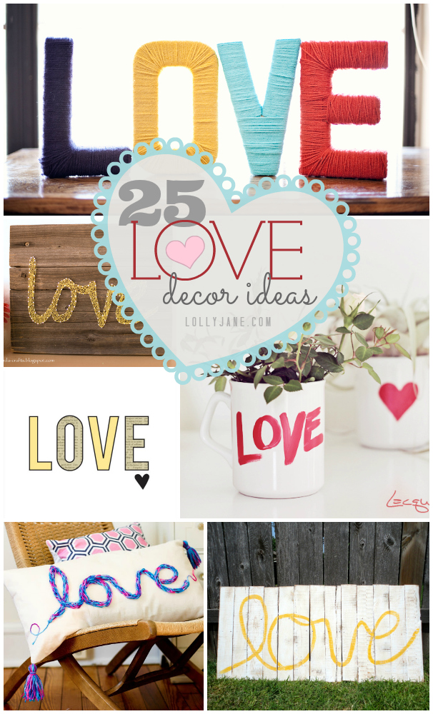 25 ideas de decoración de amor