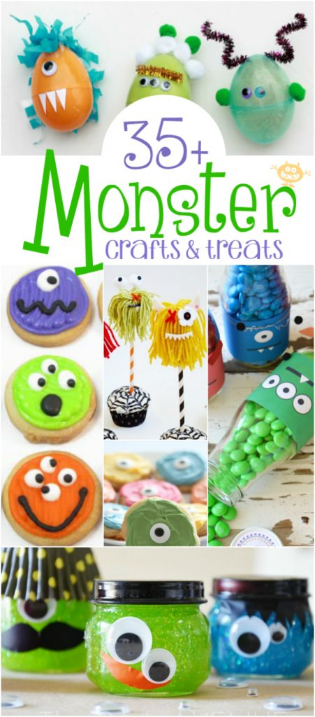 35 + Monster Crafts & Treats