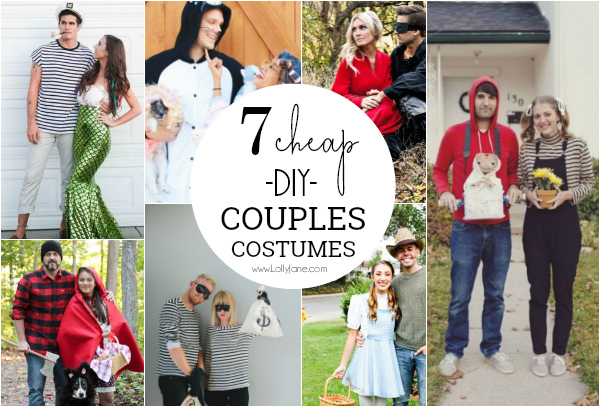 7 parejas creativas disfraces de halloween ideas