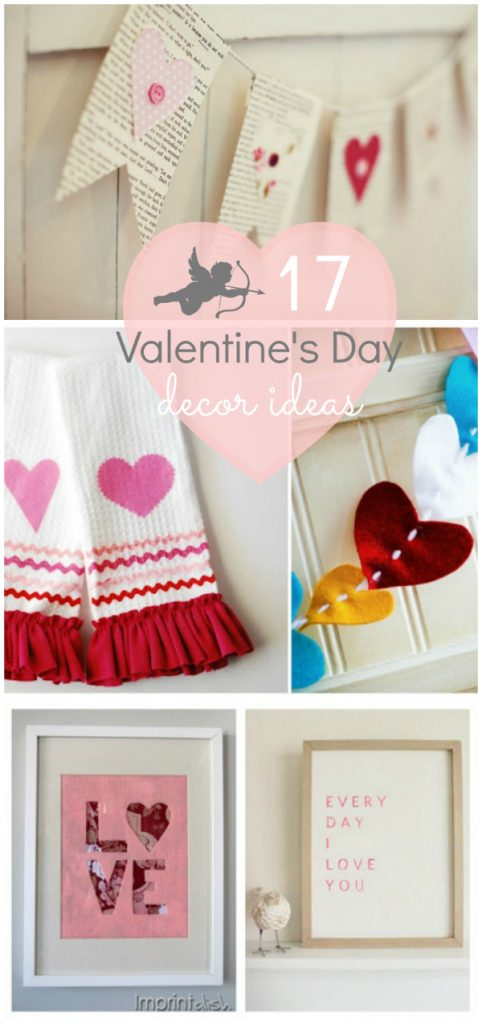 Ideas de decoración de San Valentín ♥