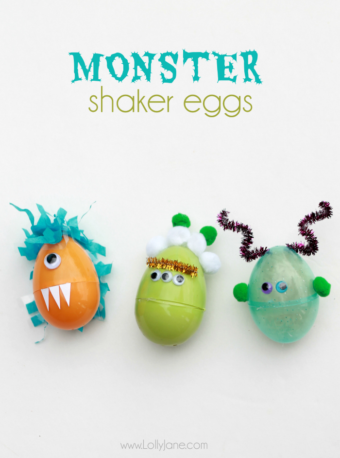 Monster Shaker huevos